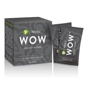 It works wipe out wrinkle cream